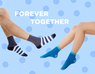 Online store SOCKS - FOREVER TOGETHER