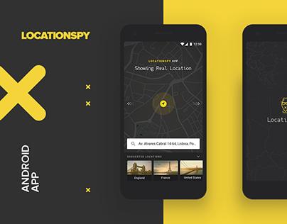 Locationspy app