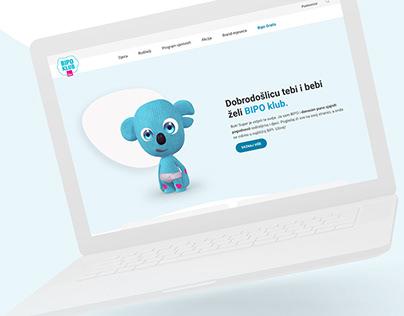 BIPO Klub Web Design