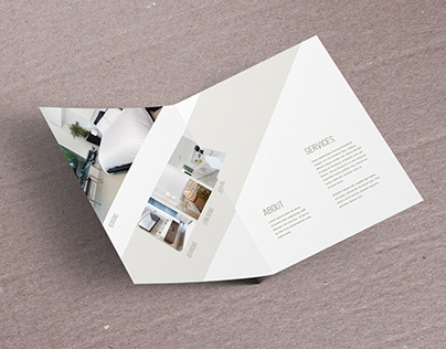 Floating Brochure Mockup (Free)