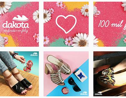 Dakota - conteúdo Instagram