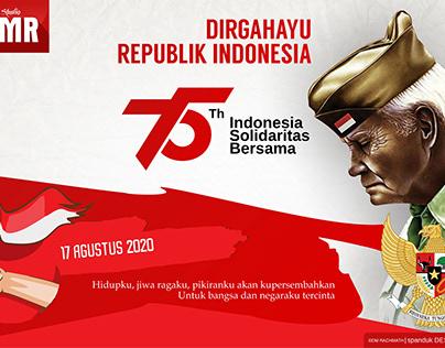 Hut RI 75 Logo Concept Design