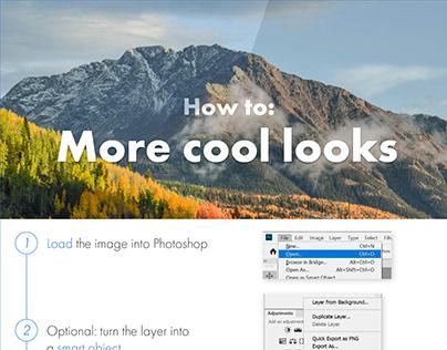Photoshop Protip: Looks in Camera Raw