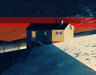 Winter landscape / I