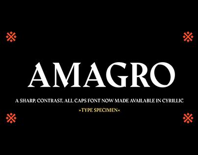 Amagro - Free Sharp Serif Font