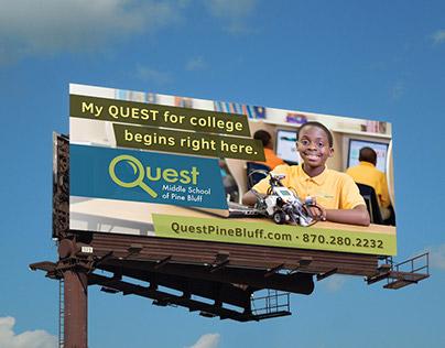 Quest Middle School Billboard
