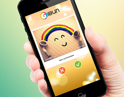 Gibun for Digital Street - App Design