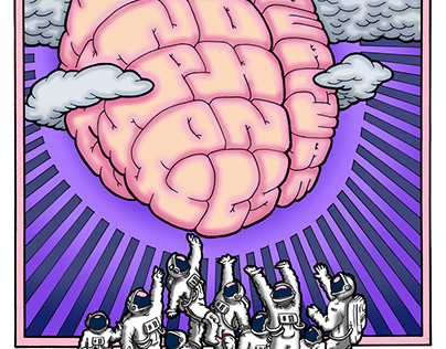Giant Brain In The Sky   Ideateam @ Harlows 2/13/15