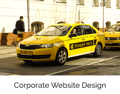 Сorporate Website Resident Taxi