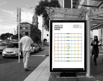 Melbourne Hoddle Grid Streetfinder