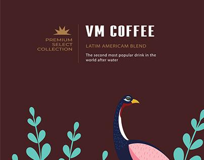 Packaging - VM Coffee - Thiết kế bao bì cafe - Artcity