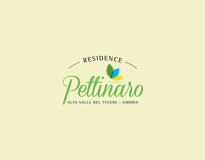 RESIDENCE PETTINARO - logo, website and photo shoot