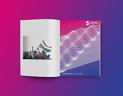 Anúncio Publicitário para 3º Setor - Somos LGBT