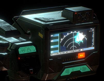 Heat Tracker - PBR - Retro Tech Prop