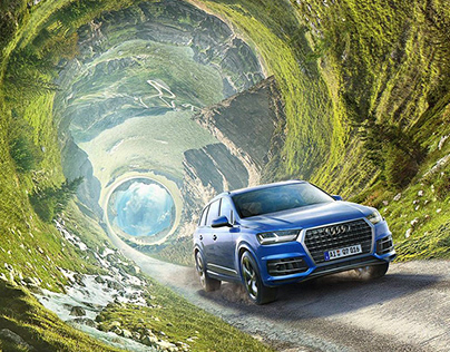 Audi Q7 - Post-production of Summer KV 2017