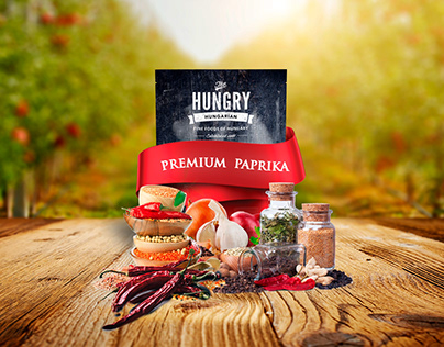 The Hungry Hungarian - Packaging Design