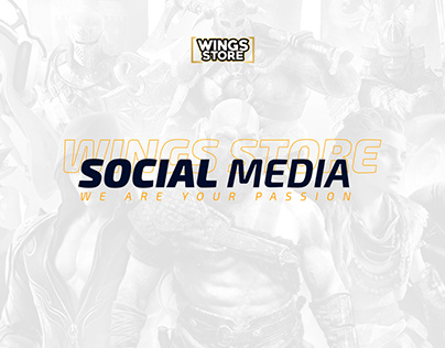 Wings Store - Social Media 2018