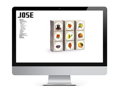 José Gourmet - Website