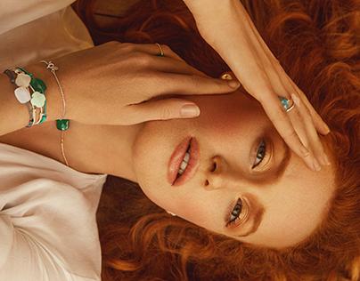 Morganne Bello Paris Jewelry Campaign SS'19