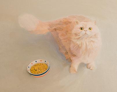 Fluffy Momo