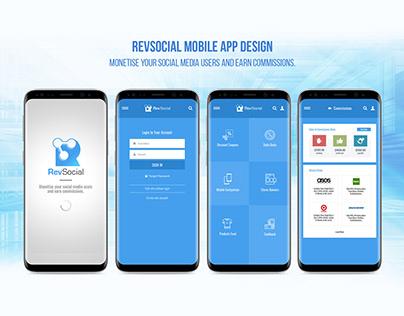 RevSocial - Affiliates Mobile App
