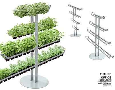 FutureOffice: Steel Tree