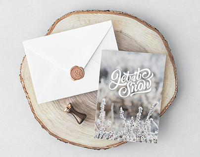 Let It Snow — Christmas Lettering