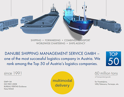 Сайт Danube Shipping Management Service GmbH
