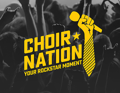 Choir Nation - Logo Design, Website, and Social Media