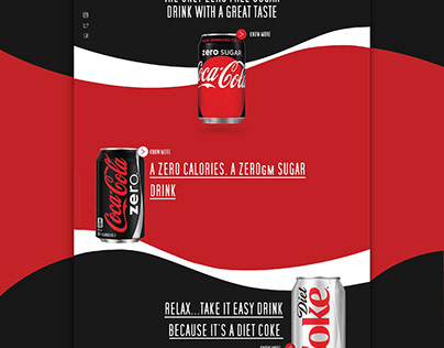 Coca cola website and app