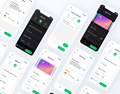 Checkout Free UI KIT - For Adobe XD