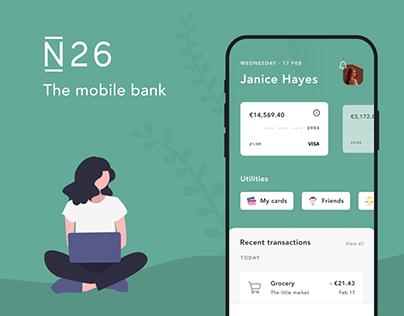 N26 | Online Banking App UI
