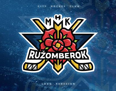 Logo redesign • Ice hockey club Ružomberok