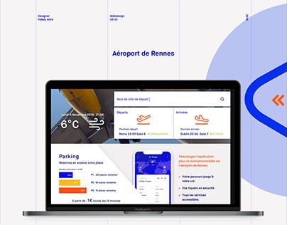 Rennes Airport UX-UI