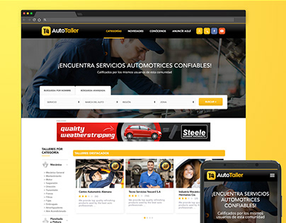 Web Design Autotaller.pe