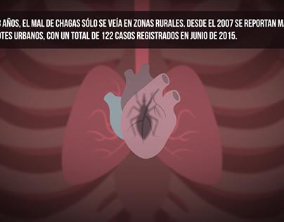 Animated Infographics:Health Status in Venezuela
