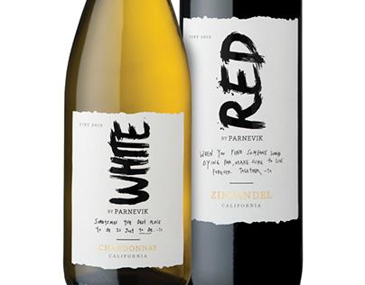 Red and White Parnevik Wine