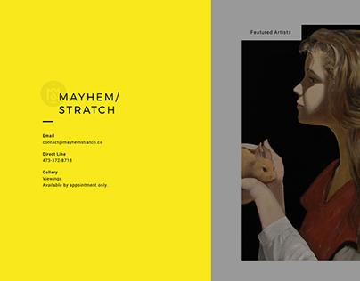 MAYHEM / STRATCH Fine Art Gallery