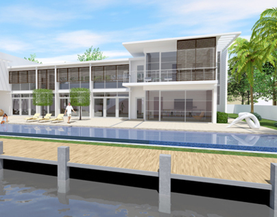 Tropical Modern House I (Fort Lauderdale, USA)