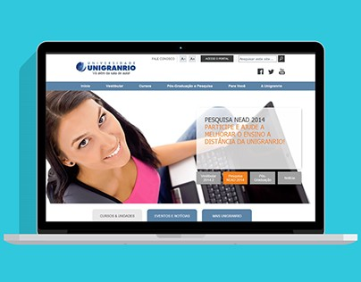 2011 - Unigranrio Portal and Mobile Site