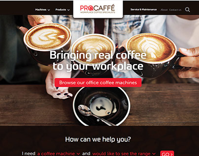 ProCaffe website