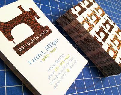 Karen Milligan, Quilter Branding
