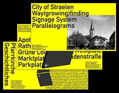 City of Straelen – Signage