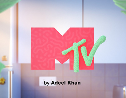 MTV Ident - Lazy Worm