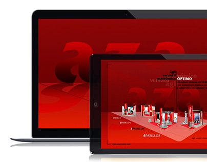 AZA Eventos; UX Design/Interactive Design