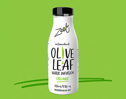 ZEET Olive leaf Infused Water