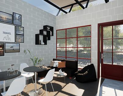 Interior design of QSR