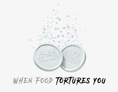 Alka-Seltzer - When food tortures you
