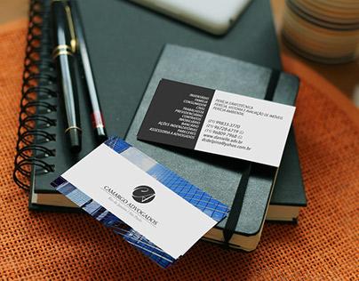 Identidade visual & cartão de visitas