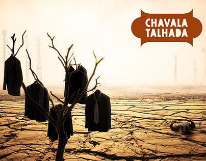 Chavala Talhada - Árida (CD cover)